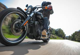 Test 2018 Harley Davidson Softail Milwaukee Eight